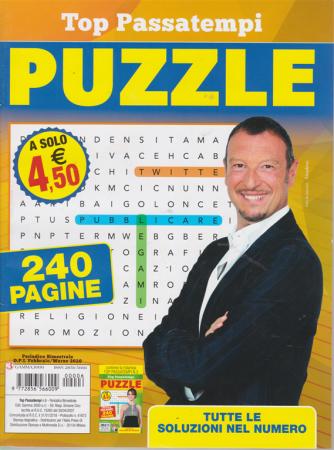 Top Passatempi - Puzzle - n. 6 - bimestrale - febbraio - marzo 2020 - 240 pagine
