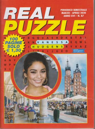 Real Puzzle - n. 87 - bimestrale - marzo - aprile 2020 - 100 pagine