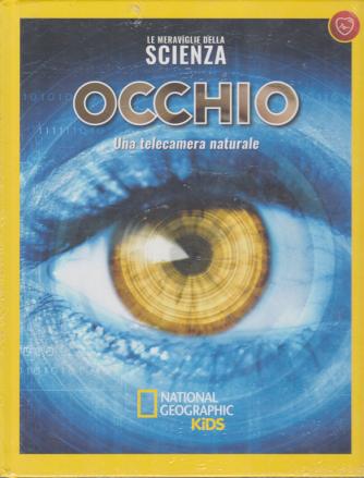 Le meraviglie della scienza - Occhio - Una telecamera naturale - n. 24 - settimanale - 31/1/2020 - copertina rigida