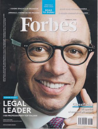 Forbes - n. 28 - febbraio 2020 - mensile