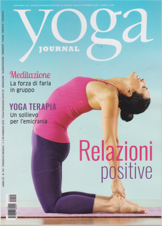 Yoga journal - n. 140 - mensile - febbraio 2020 -