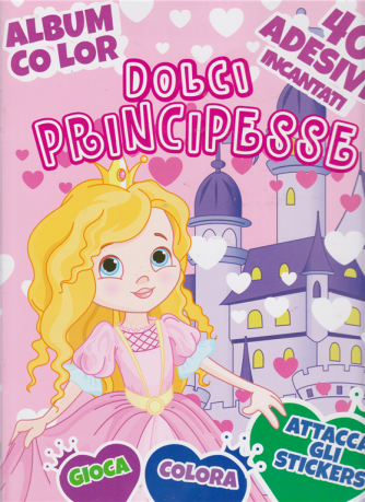 Album color Dolci principesse - n. 61 - bimestrale - 23 gennaio 2020 -