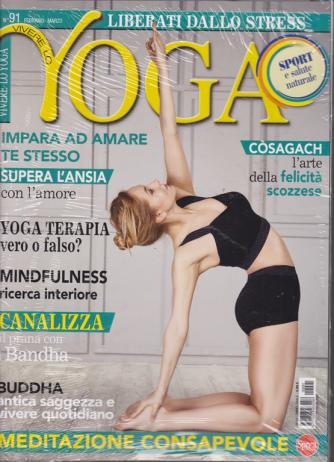 Vivere lo Yoga - n. 91 - febbraio - marzo 2020 - bimestrale + cd 50 minuti musica del cuore