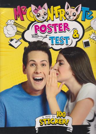 Me contro te - Poster & test ....e più di 100 sticker! - n. 33 - bimestrale - febbraio - marzo 2020