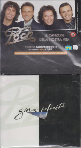i cd musicali di Sorrisi - n. 5 - settimanale - marzo 2020 - Pooh - Giorni infiniti - cd + libretto -
