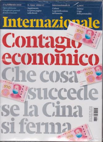 Internazionale + Il giorno della Brexit - n. 1344 - settimanale - 7/13 febbraio 2020