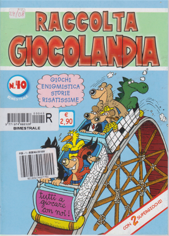 Raccolta Giocolandia - n. 40 - bimestrale -