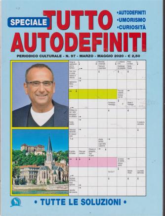 Speciale tutto autodefiniti - n. 97 - marzo - maggio 2020 -