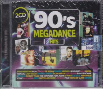 Music Talent - n. 2 - marzo - aprile 2020 - bimestrale - 90's megadance hits - rivista + 2 cd -