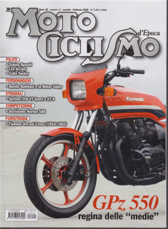 Motociclismo - n. 2 - mensile - febbraio 2020