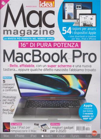 Mac magazine - n. 134 - marzo 2020 - mensile