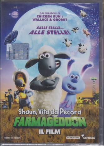 I dvd di Sorrisi collection 2 - n. 3 - Shaun, Vita da Pecora Farmageddon il film - settimanale - 13/2/2020