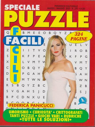 Speciale puzzle facili facili - n. 276 - marzo - amggio 2020 - 324 pagine - Federica Panicucci