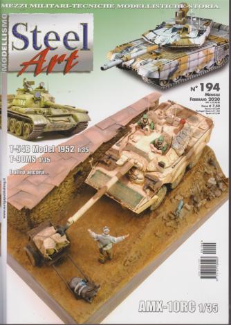 Steel Art - n. 194 - mensile - febbraio 2020 -