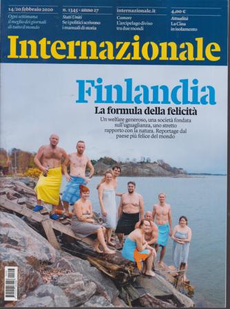 Internazionale - n. 1345 - 14/20 febbraio 2020 - settimanale