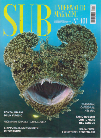 Sub underwater magazine - n. 401 - bimestrale - 10 febbraio 2020