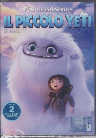 I dvd di Sorrisi collection 2 - n. 4 - settimanale - Il piccolo Yeti -  18/2/2020
