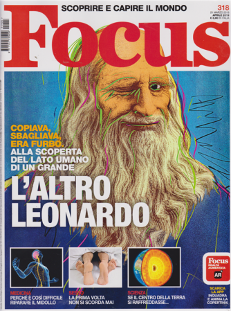 Focus - n. 318 - 21 marzo 2019 - aprile 2019 -mensile
