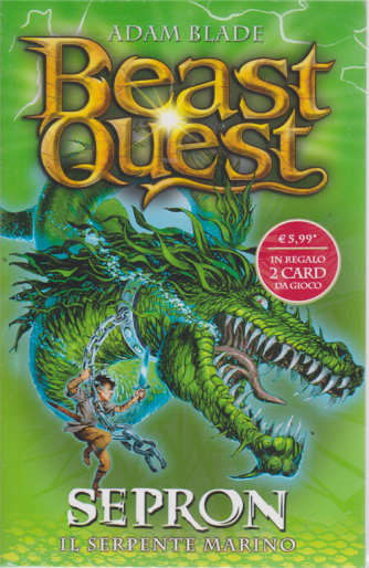 Beast Quest -Sepron il serpente marino - n. 2 - settimanale -