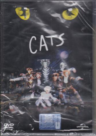I dvd di Sorrisi 7 - n. 9 -  Cats - settimanale - 18/2/2020 -