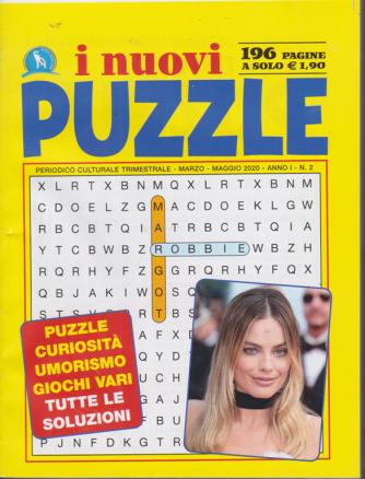 I nuovi puzzle - n. 2 - trimestrale - marzo - amggio 2020 - 196 pagine