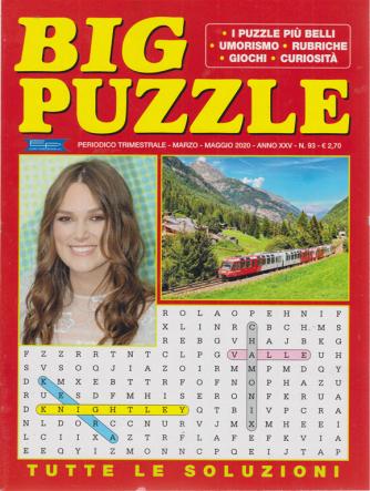 Big puzzle - n. 93 - trimestrale - marzo - maggio 2020 -
