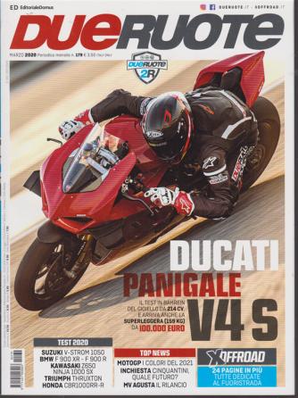 DueRuote mensile n. 179 Marzo 2020 - Ducati Panigale V4 S