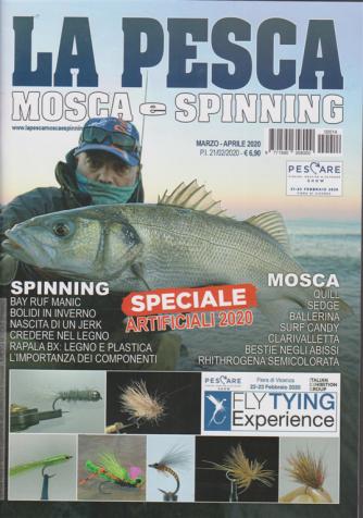 La pesca - mosca e spinning - n. 14 - marzo - aprile 2020 - bimestrale