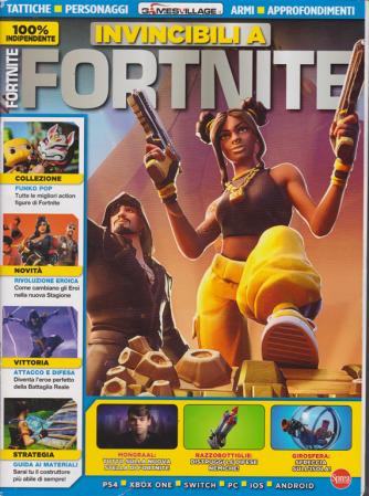 Invincibili a Fortnite - n. 1 - bimestrale - marzo - aprile 2020 -