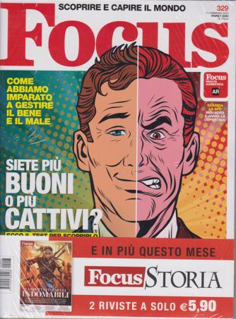 Focus + Focus storia - n. 329 - marzo 2020 - mensile - 2 riviste