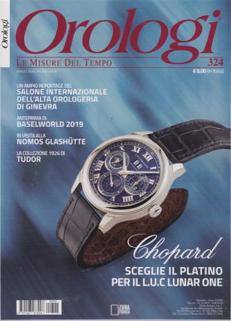 Orologi - n. 324 - marzo 2019 - mensile