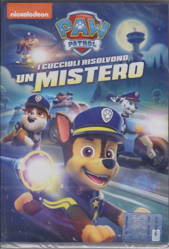 I dvd di Sorrisi 5 - n. 4 - settimanale - marzo 2020 - Paw Patrol  - I cuccioli risolvono un mistero -