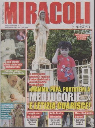 Miracoli e Misteri - n. 8 - settimanale - 26 febbraio 2020
