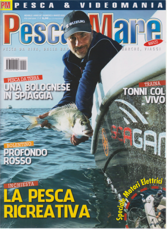 Pesca In mare - n. 3 - mensile - marzo 2020