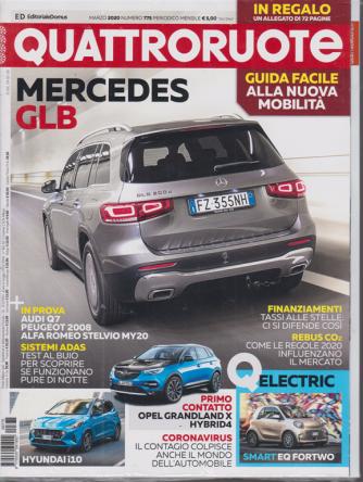 Quattroruote - n. 775 - marzo 2020 - mensile + in omaggio -  Qedu - guida facile alla nuova mobilità - 2 riviste