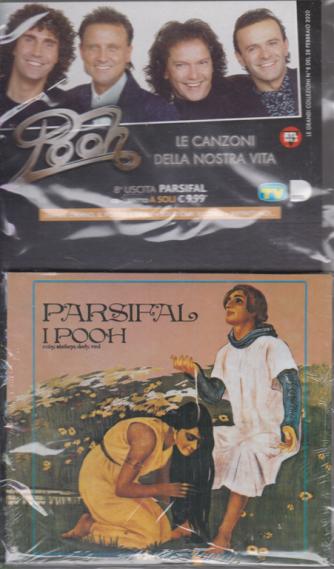 Cd Musicali di Sorrisi - n. 8 - 28 febbraio 2020 - settimanale - Pooh - Parsifal - cd + libretto