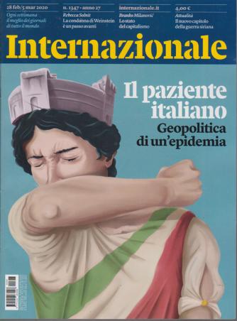 Internazionale - n. 1347 - 28 febbraio - 5 marzo 2020 - settimanale