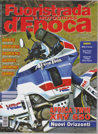 Fuoristrada & motocross d'Epoca - n. 2 - marzo - aprile 2020 - bimestrale