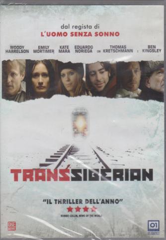 Dvd Paradise - Transiberian - n. 19 - bimestrale - 29/2/2020