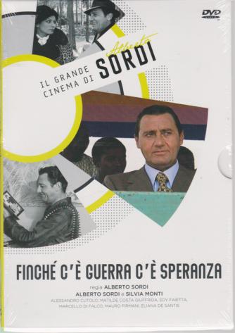 Il grande cinema di Alberto Sordi - Finchè c'è guerra c'è speranza - n. 6 - 3/3/2020 - settimanale