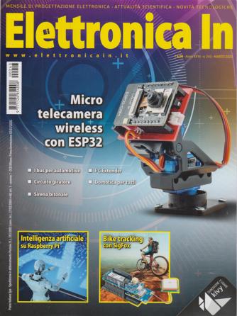 Elettronica In - n. 243 - marzo 2020 - mensile