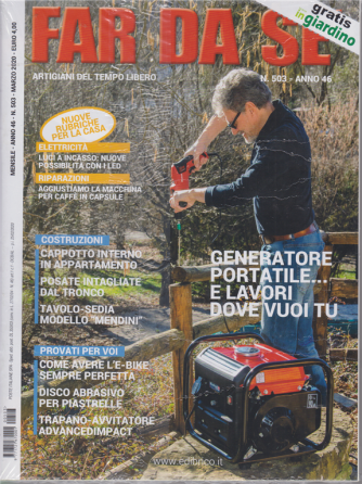 Far da se' - n. 503 - mensile - marzo 2020 - 2 riviste