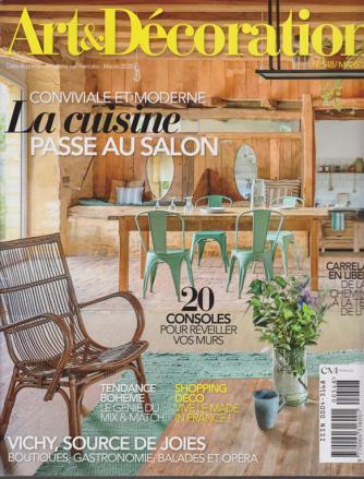 Art &  Decoration - n. 548 - marzo  2020 - mensile -  in lingua francese