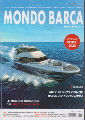 Mondo Barca Market - n. 243 - mensile - marzo 2020