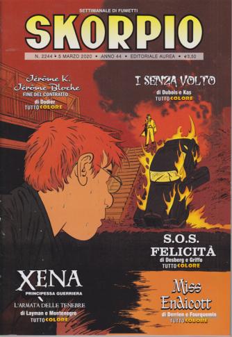 Skorpio - n. 2244 - 5 marzo 2020 - settimanale di fumetti