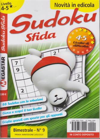 Sudoku Sfida - Liv.4-5 - bimestrale - n. 9 - 2/3/2020