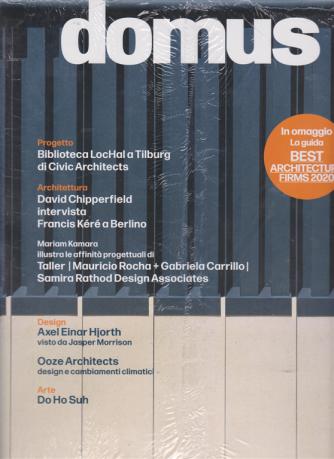 Domus - n. 1044 - marzomarch 2020 - mensile - + in omaggio la guida Best architecture firms 2020 - 2 riviste