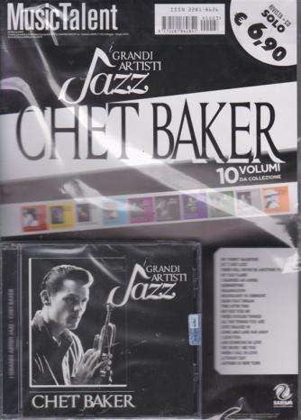 Music Talent - I grandi artisti jazz - Chet Baker - rivista + cd -