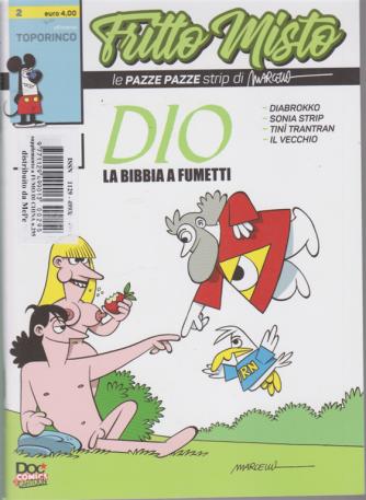 Fritto Misto - Dio, la Bibbia a fumetti - n. 295 - trimestrale umoristico