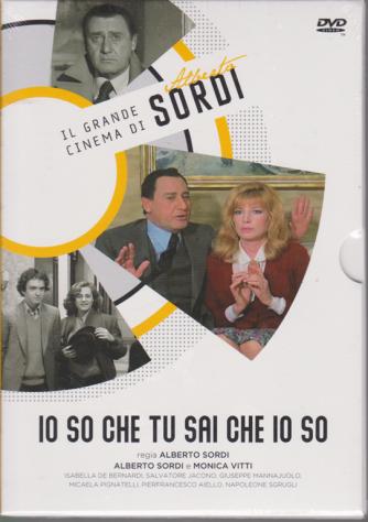 Il Grande cinema di Alberto Sordi - Io so che tu sai che io so - Con Monica Vitti - n. 7 - settimanale - 10/3/2020